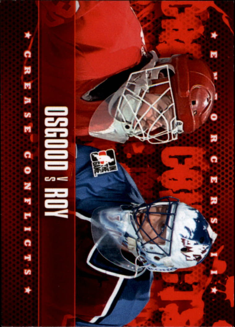 2013-14 ITG Enforcers #97 Chris Osgood/Patrick Roy CC