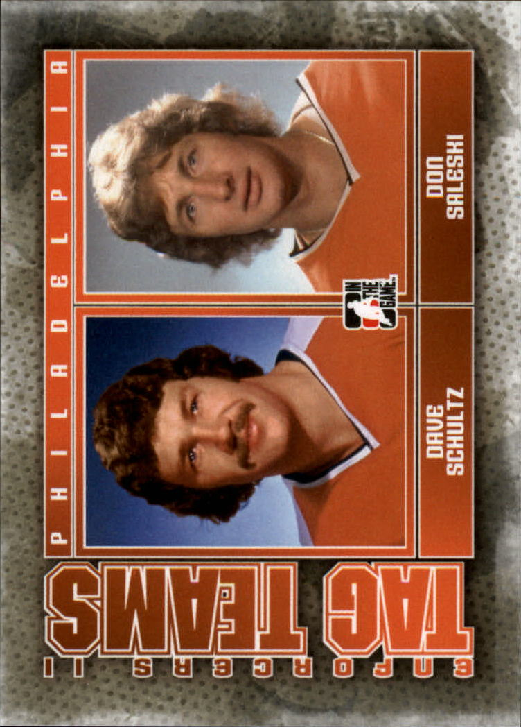 2013-14 ITG Enforcers #128 Dave Schultz/Don Saleski TT