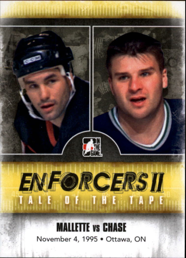 2013-14 ITG Enforcers #143 Troy Mallette/Kelly Chase TOTT