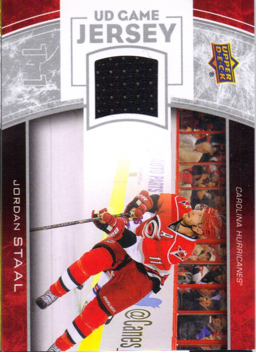2013-14 Upper Deck Game Jerseys #GJST Jordan Staal 1F