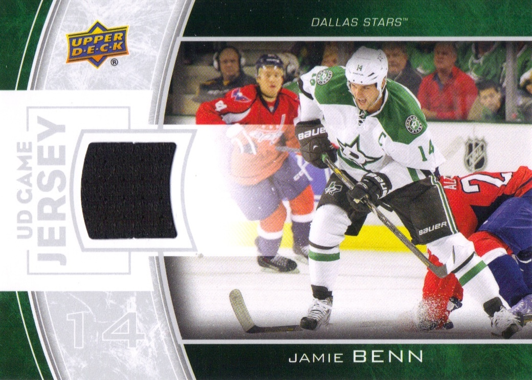 2013-14 Upper Deck Game Jerseys #GJJB Jamie Benn 2C