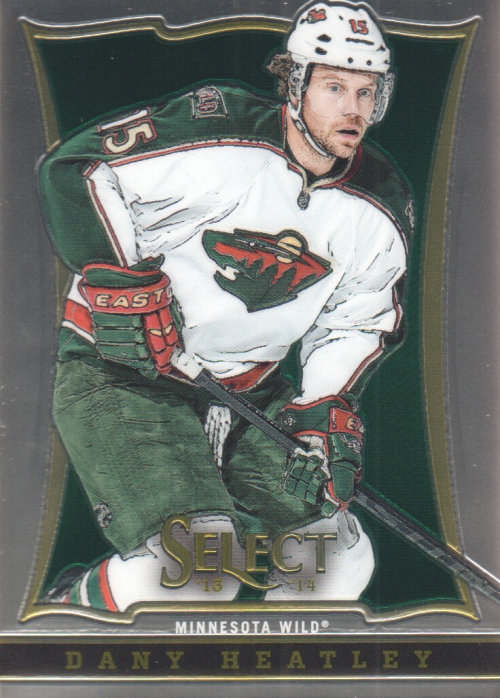 2013-14 Select #72 Dany Heatley