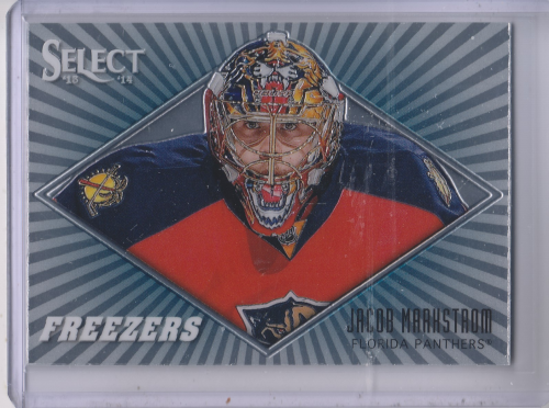 2013-14 Select Freezers #F20 Jacob Markstrom