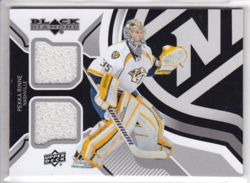 2013-14 Black Diamond Dual Jerseys #NETPR Pekka Rinne G