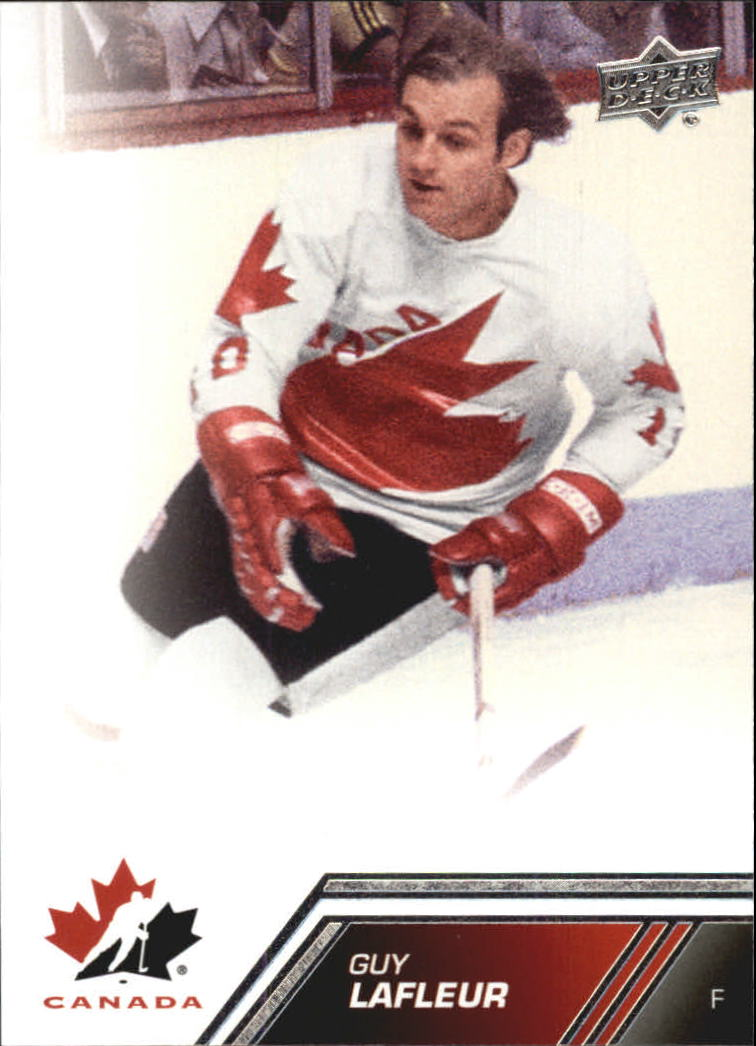 2013-14 Upper Deck Team Canada #129 Guy Lafleur