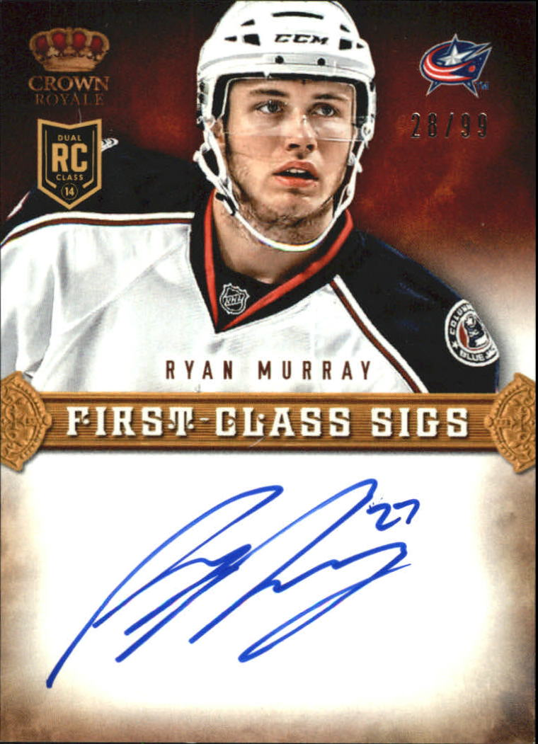 2013-14 Crown Royale First Class Sigs #FCRMR Ryan Murray