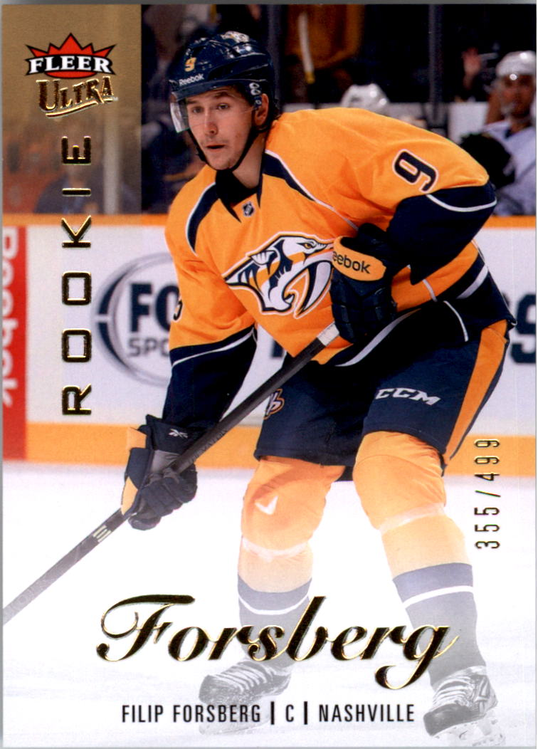 2013-14 Fleer Showcase Ultra #59 Filip Forsberg/499