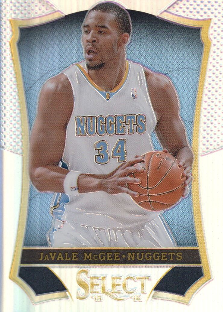 2013-14 Select Prizms #158 JaVale McGee