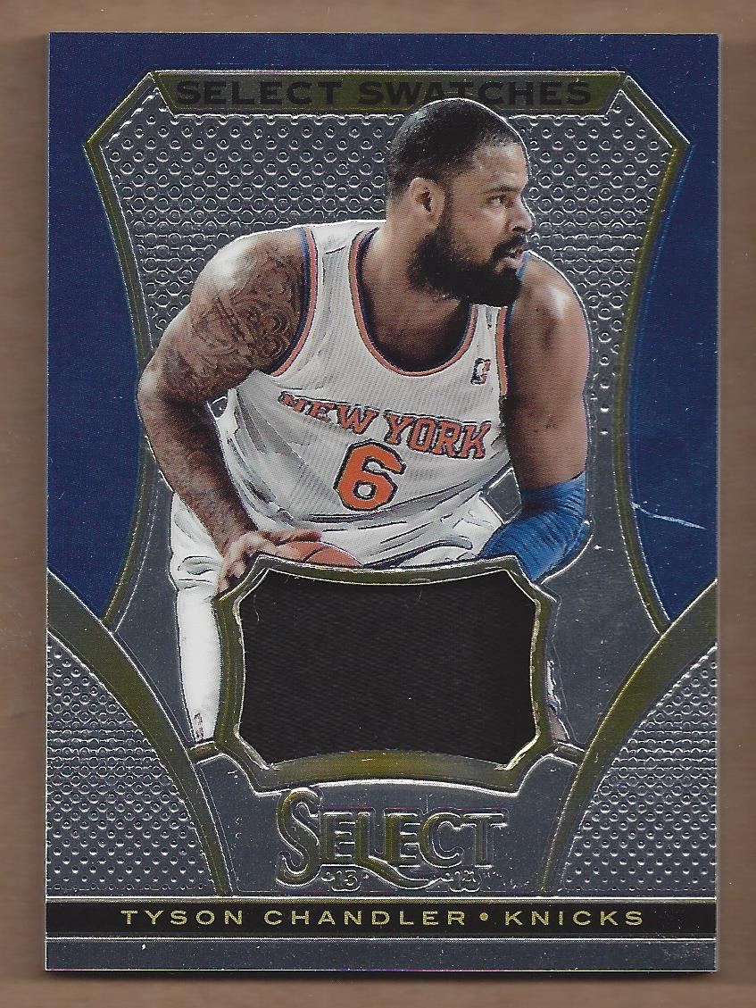 2013-14 Select Swatches #65 Tyson Chandler