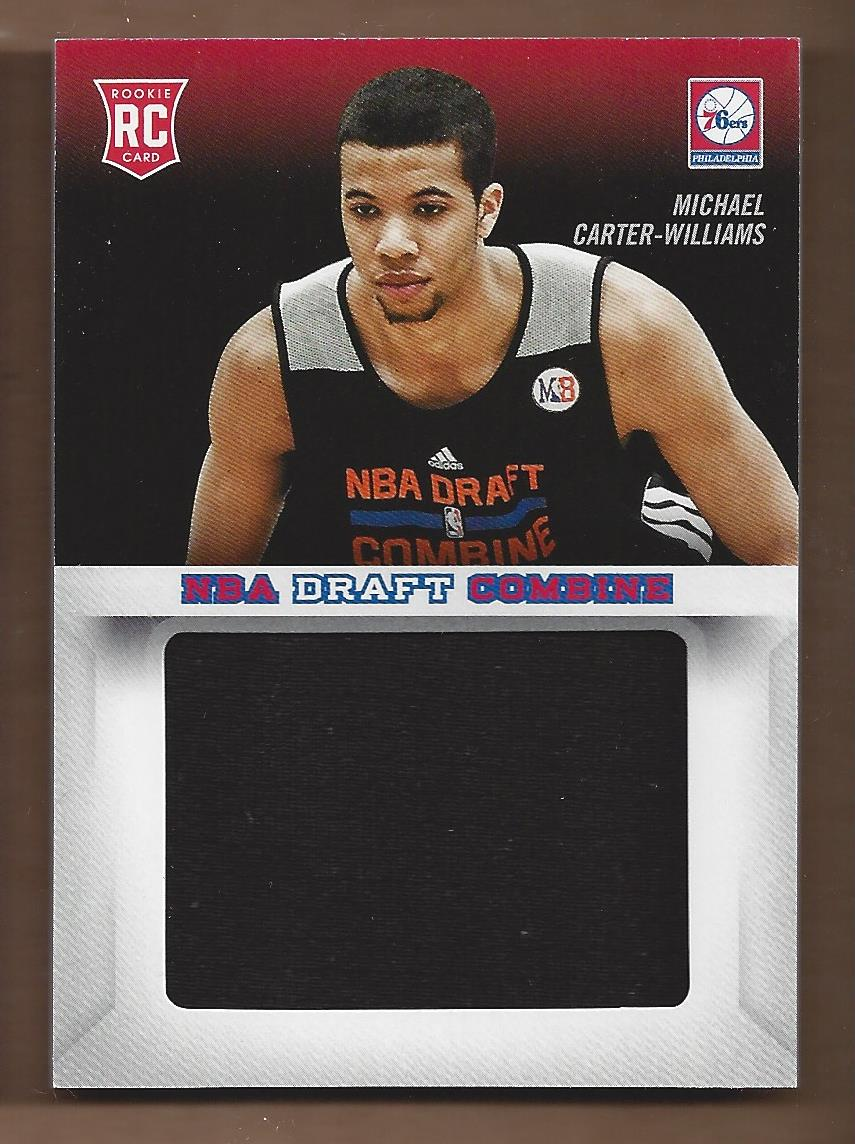 2013-14 Panini Father's Day NBA Draft Combine Jerseys #1 Michael Carter-Williams