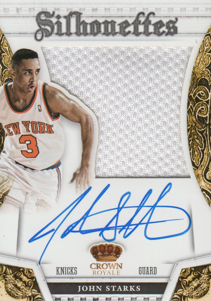 2013-14 Panini Preferred #311 John Starks SL JSY AU/49