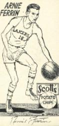 1950-51 Lakers Scott's #2 Arnie Ferrin