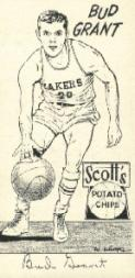 1950-51 Lakers Scott's #3 Bud Grant