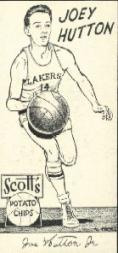 1950-51 Lakers Scott's #5 Joey Hutton