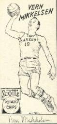 1950-51 Lakers Scott's #10 Vern Mikkelsen