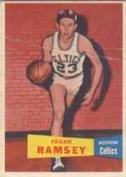 1957-58 Topps #15 Frank Ramsey DP RC