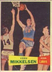 1957-58 Topps #28 Vern Mikkelsen RC