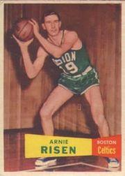 1957-58 Topps #40 Arnie Risen DP