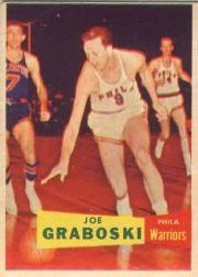 1957-58 Topps #41 Joe Graboski