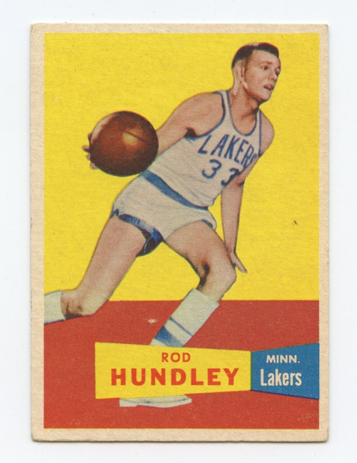 1957-58 Topps #43 Rod Hundley DP RC