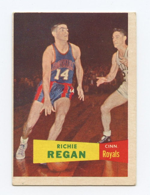 1957-58 Topps #50 Richie Regan RC