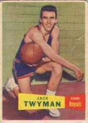 1957-58 Topps #71 Jack Twyman DP RC
