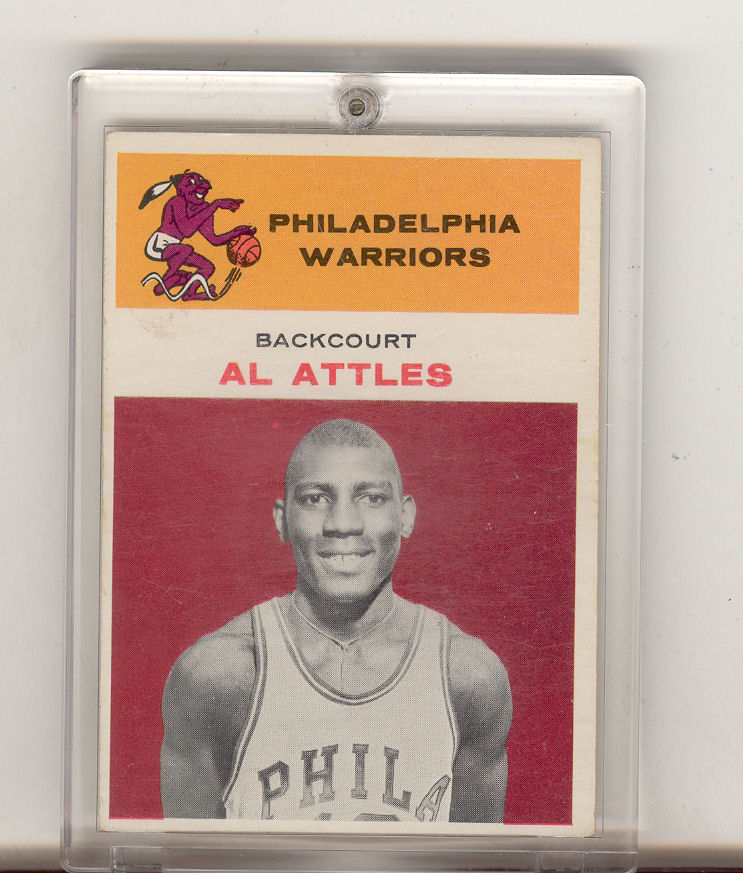1961-62 Fleer #1 Al Attles RC