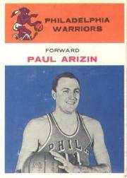 1961-62 Fleer #2 Paul Arizin