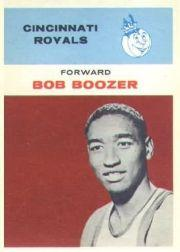 1961-62 Fleer #6 Bob Boozer RC