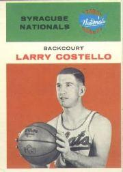 1961-62 Fleer #9 Larry Costello
