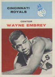 1961-62 Fleer #12 Wayne Embry RC
