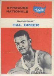 1961-62 Fleer #16 Hal Greer RC