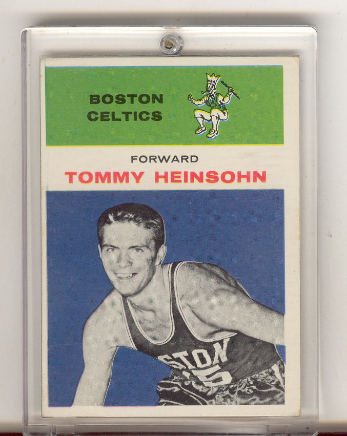 1961-62 Fleer #19 Tom Heinsohn