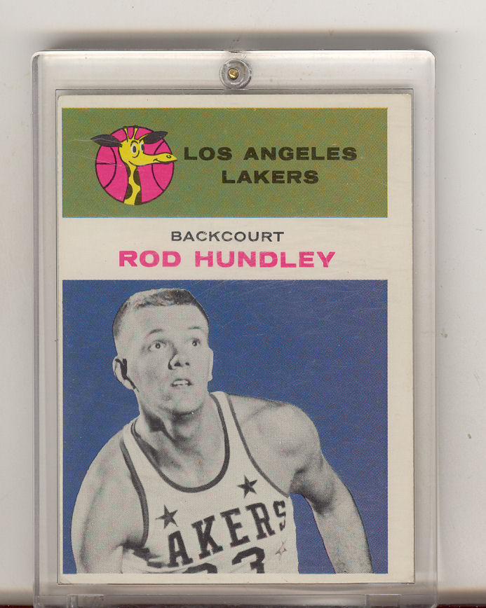 1961-62 Fleer #21 Rod Hundley