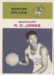 1961-62 Fleer #22 K.C. Jones RC