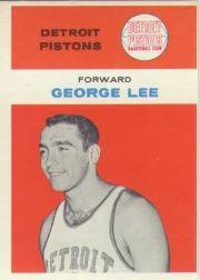 1961-62 Fleer #27 George Lee