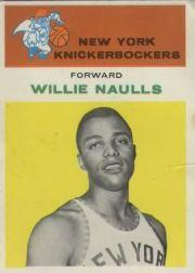 1961-62 Fleer #32 Willie Naulls