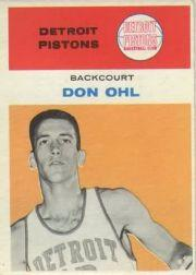 1961-62 Fleer #33 Don Ohl RC