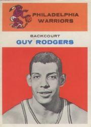 1961-62 Fleer #37 Guy Rodgers RC