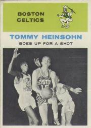 1961-62 Fleer #54 Tom Heinsohn IA