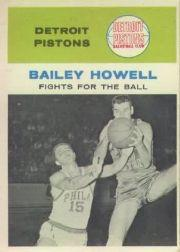 1961-62 Fleer #55 Bailey Howell IA