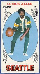 1969-70 Topps #6 Lucius Allen RC