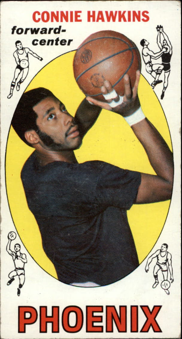 1969-70 Topps #15 Connie Hawkins RC