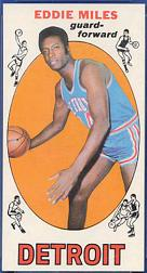 1969-70 Topps #21 Eddie Miles