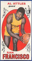 1969-70 Topps #24 Al Attles