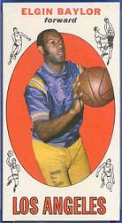 1969-70 Topps #35 Elgin Baylor