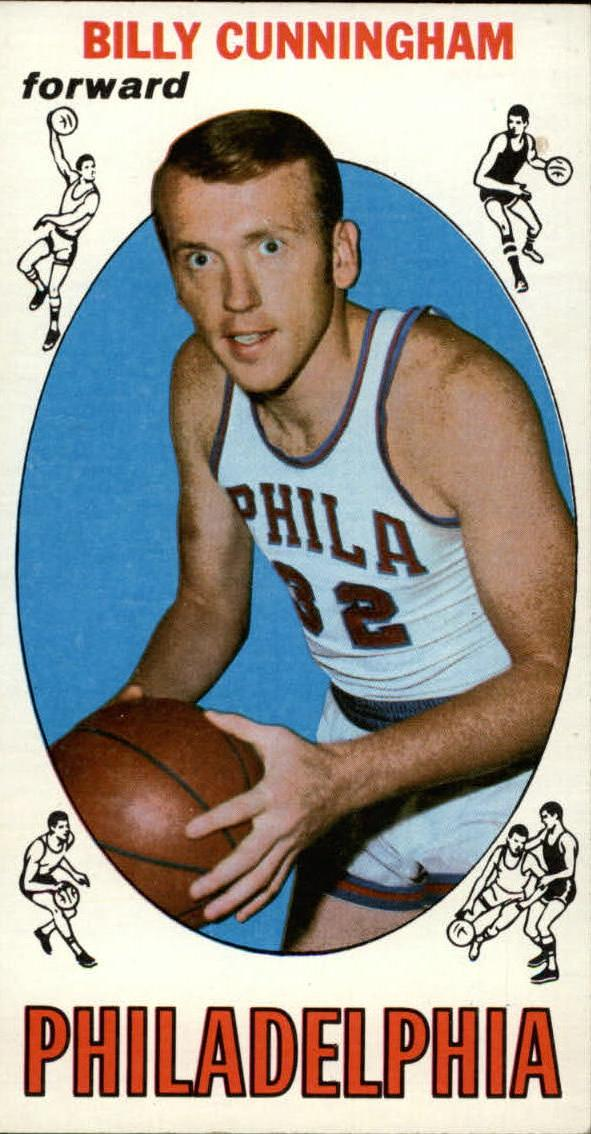 1969-70 Topps #40 Billy Cunningham RC