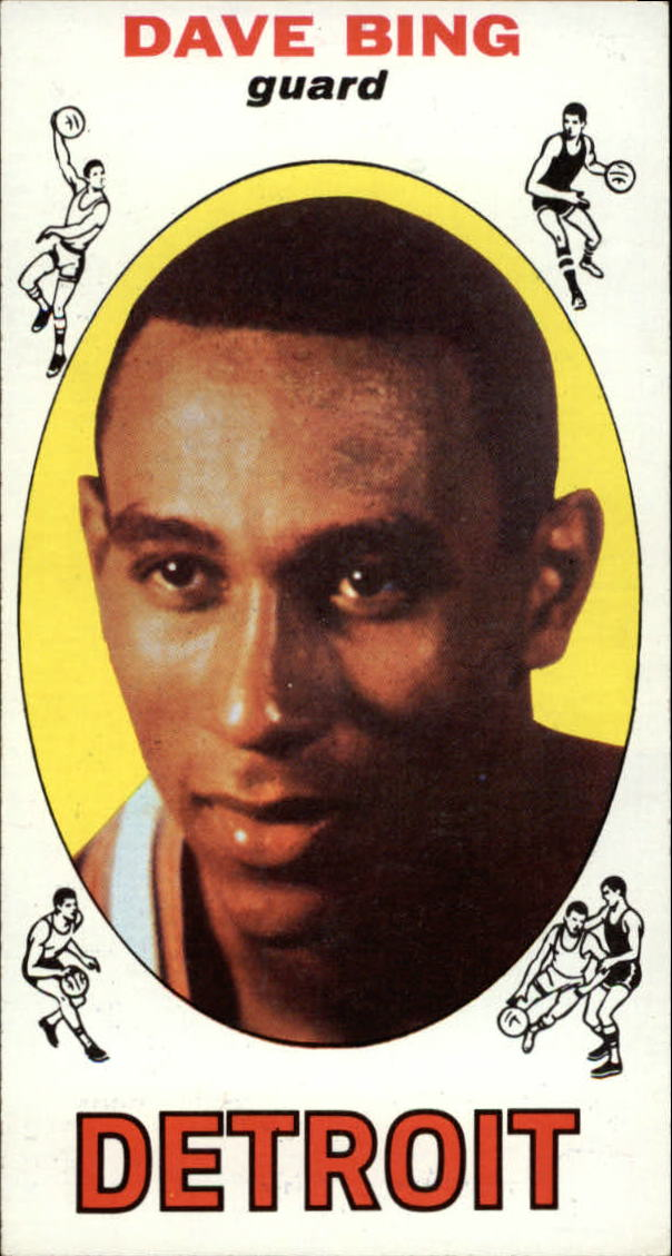 1969-70 Topps #55 Dave Bing RC