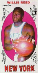 1969-70 Topps #60 Willis Reed RC