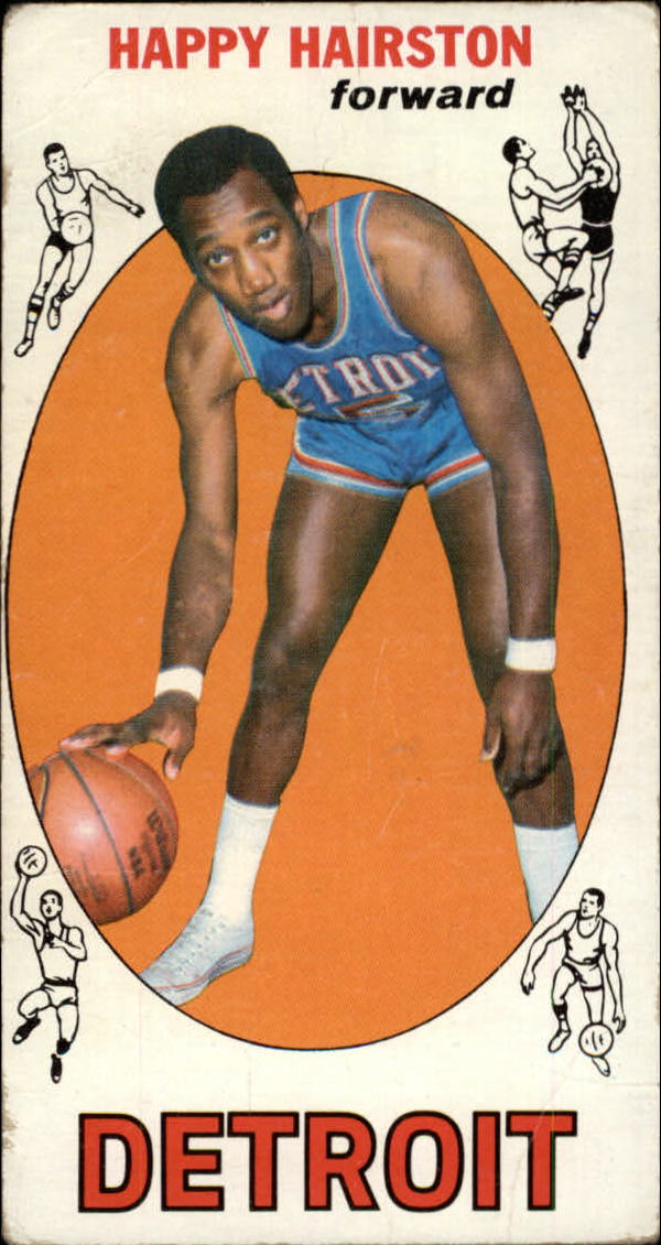 1969-70 Topps #83 Happy Hairston RC